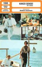FICHE CINEMA : KANZO SENSEI - Emoto,Asô,Imamura 1998 Dr.Akagi