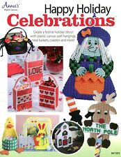 Happy Holiday Celebrations ~ 40+ Projects plastic canvas pattern book NEW