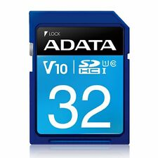 32GB A-Data Premier SDHC CL10 UHS-1 Memory Card