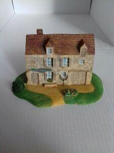Maison miniature en résine peinte main Vexin pour maquette train creche decor