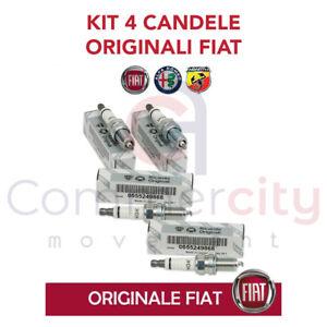 KIT 4 CANDELE ORIGINALI FIAT 500-595 ABARTH 1.4 55249868 = NGK IKR9J8