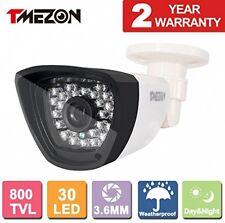 TMEZON HD 800TVL 30 IR-LEDs 960H CCTV Camera Home Security Day/Night Waterproof