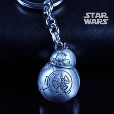 Star Wars The Force Awakens Robot BB-8 Alloy Key Chains Keychain Keyfob Keyring