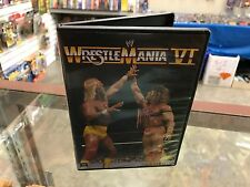 WWE Wrestlemania VI Hulk Hogan Ultimate Warrior DVD Rare WWF 2013 Wrestling VHTF