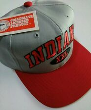 Vintage Indiana Hoosiers Hat - Men's Casual NCCA Snapback- College Fan Gear -NWT