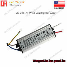 Constant Current LED Driver 20-36X1W DC60-120V 0.3A Lamp Waterproof Power Supply