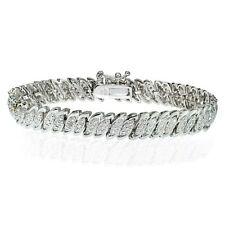 Diamond Silver Plated Fine Bracelets
