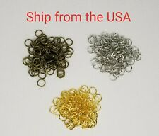 10 g / about 190 PCs 6 mm open Jump Rings, 6 x 0.7 mm