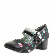 Mary Janes Floral Shoes for Women