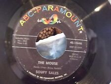 45% SOUPY SALES THE MOUSE / PACHALAFAKA ON ABC PARAMOUNT RECORDS