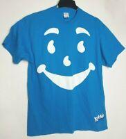 Kool Aid Man Blue Vintage Retro Shirt Adult Size XL Oh Yeah Vtg Delta Tag Rare