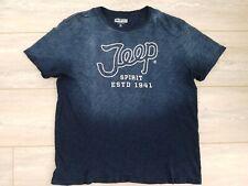 Lucky Brand Men's Jeep Shirt Wrangler Blue White Outdoors Size XL