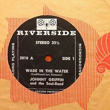 "Johnny Griffin-Wade In The Water-7"" 45-Riverside-2010-Vinyl Record"