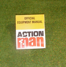 VINTAGE ACTION MAN 40th OFFICIAL EQUIPMENT MANUAL L50 SML