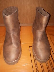 Sheckers Ladies Boots Brown Ankle Size 6 ,In Excellent Condition