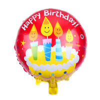 2pcs Happy Birthday Balloons Party Decor Baby Shower Gift Kids Toy NTH