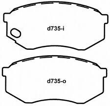 Frt Severe Duty Brake Pads SX735 Wagner