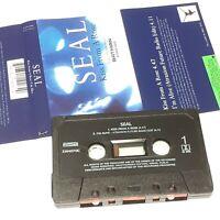 SEAL KISS FROM A ROSE 1994 CASSETTE TAPE SINGLE BATMAN SOUNDTRACK POP ROCK