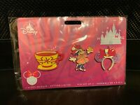 Minnie Mouse The Main Attraction Pin Set Mad Tea Party March Limited SHIPS NOW