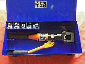 HELIX HHC-150A Hydraulic Crimping Tool - USED.  Crimping Force of 6 TON.