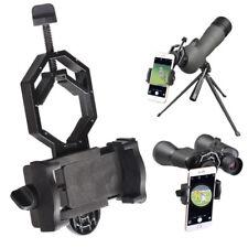 Telescope Spotting Scope Microscope Mount Holder for Phone Camera Adapter CHF