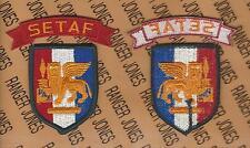 US Army Southern European Task Force SETAF dress uniform patch w/ tab