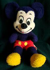 "Vintage RARE BLUE Mickey Mouse Plush Walt Disney 18"" California Stuffed Toys"
