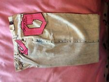 BRAND NEW  VINTAGE SASSON BLUE ACID WASHED JEANS WITH ORIGINAL TAGS SIZE 13/14