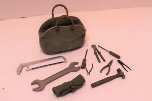 DRAGON, DML, DID, SOLDIER STORY 1:6 SCALE WWII US ARMY MECHANICS TOOLS AND BAG