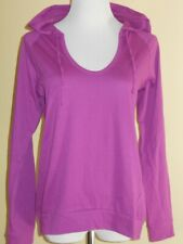 ONE STEP-UP Fuchsia-Pink Hoodie Long Sleeve Shirt Pullover Top Sz XL NWOT