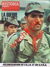 Historia magazine guerre d'Algérie n°355 Alger ALN GPRA