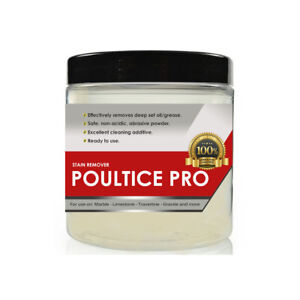 Marble Stain Remover  - Oil and Grease Remover - 200 grams PSRP POULTICE PRO