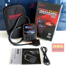 iCarsoft i908 Diagnosegerät für VW Audi Seat Skoda Motor Getriebe ABS Airbag DSC