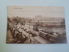 Postcard Nice Old Nostalgic Scene GLASGOW BRIDGE Philco Publishing Co  §A1558