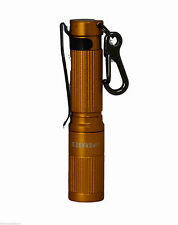 Aimkon iTP A3 EOS Cool White Flashlight, 130 lm/Small, Gold