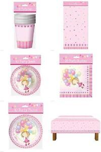 Fairy Balloon Princess Girl Child Birthday Party Tableware Decoration Fun Enjoy