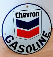 Chevron Gas Oil gasoline sign . free ship on any 8 signs