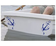 Anchor #2 (2of) Vinyl Sticker Decal Navy Dinghy Boat Ship Canoe Yacht - DEC1090