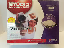 Pinnacle Studio Movie Box USB Version 9 New In Box Never Opened Sealed