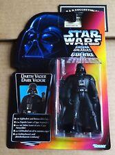 """STAR WARS tri-logo carte rouge THX long sabre """"Darth Vader Figure"""" New/unopened"""