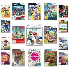 Nintendo Wii Spiele AUSWAHL - Mario Kart - Party - Just Dance - Wii Sports