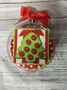 Mud Pie Hostess Gift Drink Paper Coasters Ornament Package