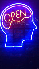"New Open Mind Neon Sign 24""x20"""