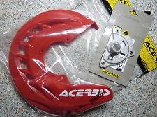Motocross Teile in Rot