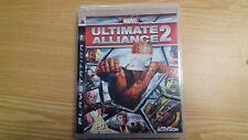 Marvel Ultimate Alliance 2 PS3 Reino Unido PAL completo en muy buena condición libre RÁPIDO UK FRANQUEO