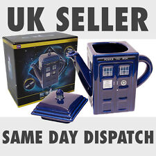 New Doctor Who Ceramic TARDIS Teapot Tea 3D Official Licensed