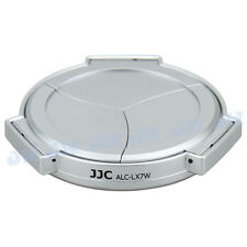 JJC Silver Auto Open Close Lens Cap for Panasonic Lumix DMC-LX7 & Leica D-Lux6