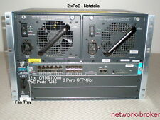 Cisco switch WS-C4503 Chassis + WS-X4013+TS SE II-Plus-TS 2 x PWR-C45-1300ACV