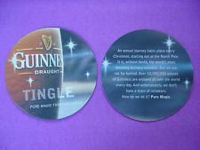 Beer Collectible Coaster ~*~ GUINNESS Draught Tingle ~ Pure Magic this Christmas