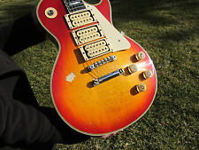 Gibson Custom Shop Les Paul Ace Frehley Budokan Reissue Aged  100 MADE EBONY FB